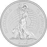 2015 UK Coin £50 BU Britannia 23595
