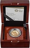 2017 Gold Sovereign Piedfort Proof 200th Anniversary Design Presentation Box