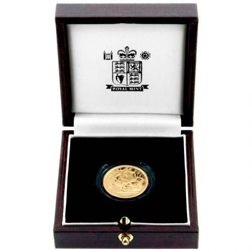 1996 Gold Sovereign Elizabeth Ii Proof Chard