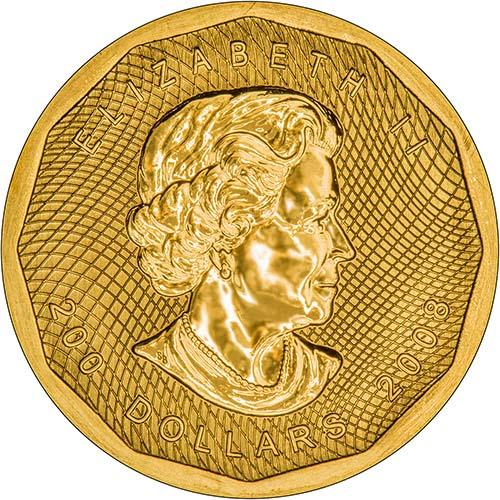 2008 Gold Maple 1 Oz Coin Chard