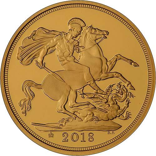 2018 5-Coin Gold Proof Sovereign Set 22392