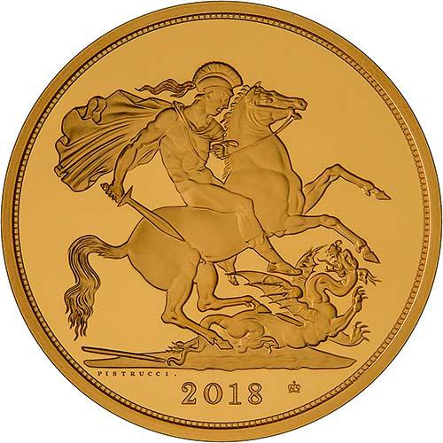 2018 5-Coin Gold Proof Sovereign Set 22394