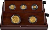 2018 5-Coin Gold Proof Sovereign Set Presentation Box