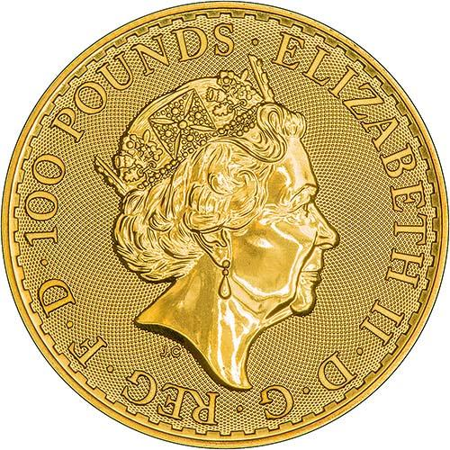 2018 1 oz Gold Coin Britannia Bullion 24902