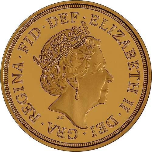 2018 Gold Proof Full Sovereign 24231