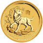 2018 10 oz Gold Coin Lunar Year of the Dog Perth Mint Bullion 20949