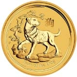 2018 1 Kg Gold Coin Lunar Year of the Dog Perth Mint Bullion 24916