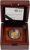 2018 Gold Proof Half Sovereign 24617