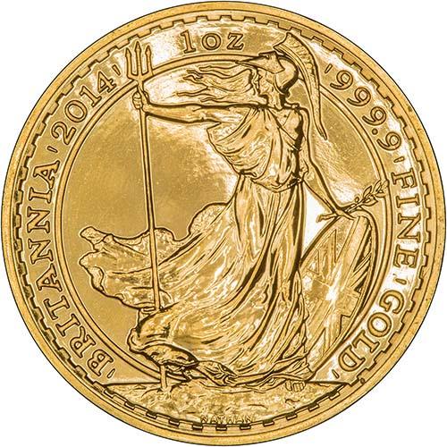 Gold Britannia Coins l Chards