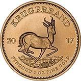 2017 1 oz Gold Coin Krugerrand Bullion 21416