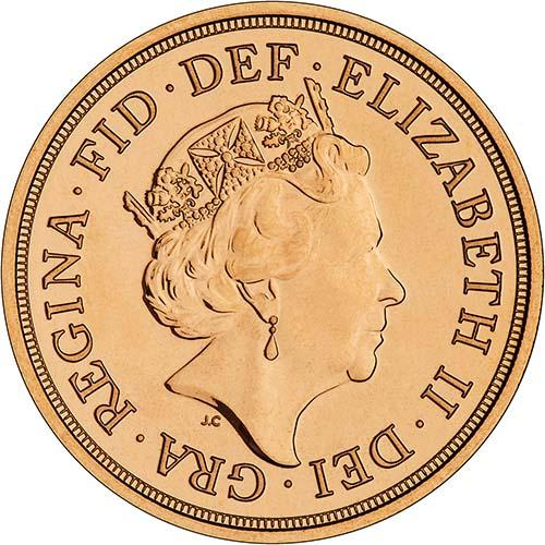 2016 Gold Full Sovereign Elizabeth II Bullion 21613