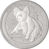 2018 1 Kg Silver Coin Koala Perth Mint Bullion 23051