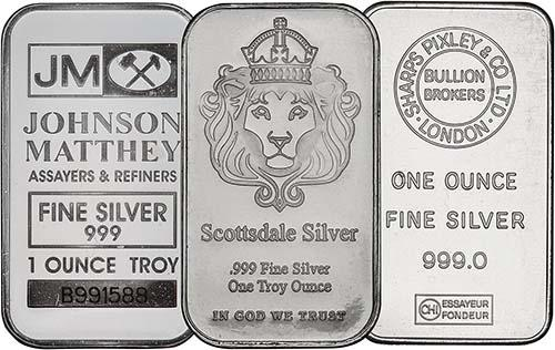 1 oz Silver Bar Our Choice Pre-Owned 23876