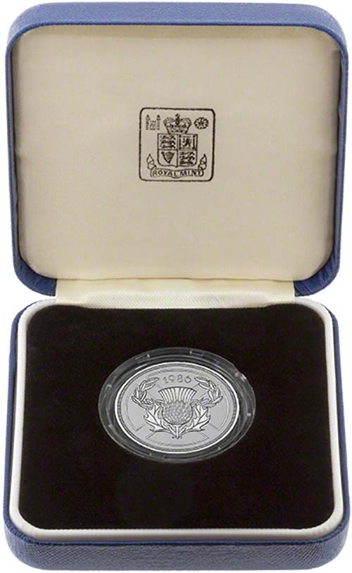 1986 Commonwealth Games 2 Silver Proof Coin