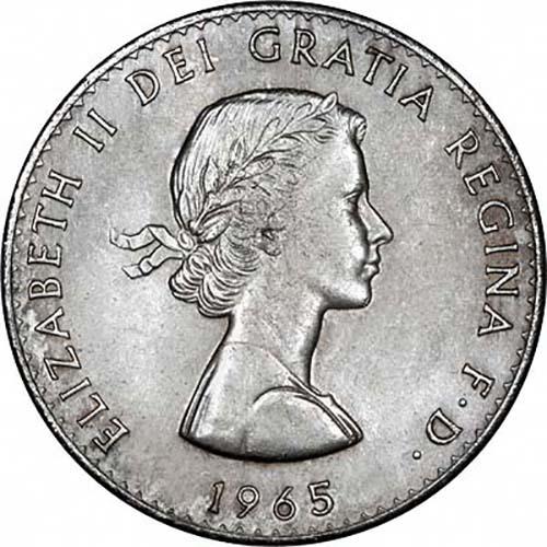1965 Sir Winston Churchill Crown Unc Coin L Chard