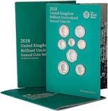 2018 United Kingdom Brilliant Uncirculated Annual Coin Set 21923