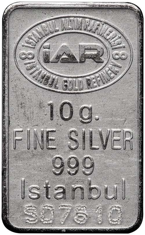 10g Silver Bar Our Choice Pre-Owned 23066