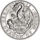 2018 UK Coin £5 / Crown BU Queen's Beasts - Red dragon 24008