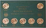 Whole Coin Set Sovereign George V Very Fine Mintmark Collection 25546