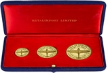 1965 25th Anniversary of the Battle of Britain Gold Medallion Set - 3 Pieces 20537