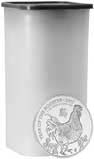 1 oz Silver Coins in Tube CGT Exempt - 25 Coins Newly Minted 20796