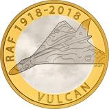 2018 UK Coin £2 Silver Proof RAF Centenary Vulcan 22338
