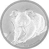 2010 1 oz Silver Coin Koala Bullion 24760