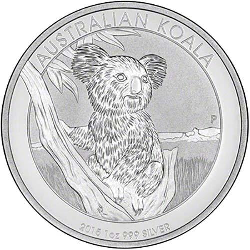 2015 Silver Koala 1 Oz Bullion Coin Chard