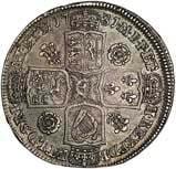 1731 UK Coin Half Crown George II 22798