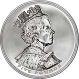 2002 UK Coin £5 / Crown BU Golden Jubilee 22227
