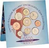 2000 United Kingdom Annual BU Coin Set 24000