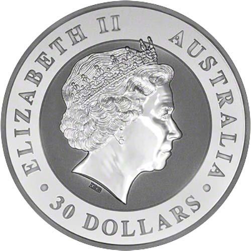 2016 Silver Kookaburra 1 Kg Bullion Coin Chard