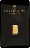 1g Gold Bar Perth Mint Kangaroo 1