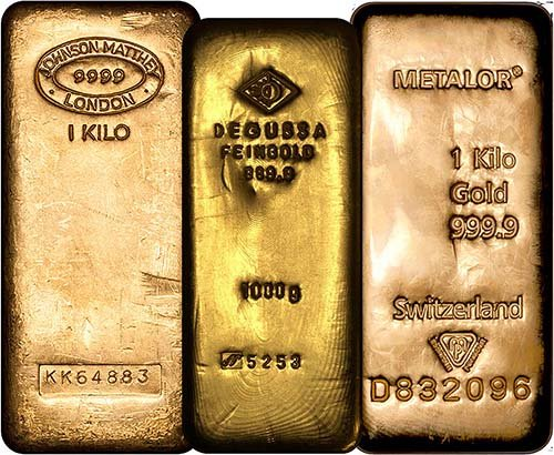 1 Kilogram Gold Bars 1kg Gold Bullion Chard