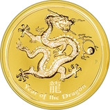 2012 1 Kg Gold Coin Lunar Year of the Dragon Perth Mint Bullion 23166