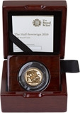 2019 Gold Proof Half Sovereign 23857