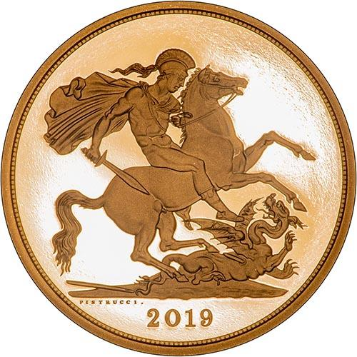 2019 5-Coin Gold Proof Sovereign Set 25138
