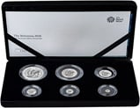2018 Whole Coin Set Britannia Silver Proof - 6 Coins 25210
