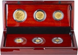 2018 6-Coin Gold Proof Britannia Set 22885