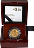 2018 Piedfort Sovereign Gold Proof  23861