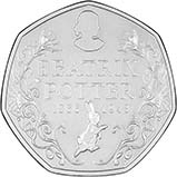 2016 UK Coin 50p BU Beatrix Potter - 150th Anniversary 24344