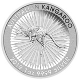 2019 1 oz Silver Coin Kangaroo Perth Mint Bullion 22942
