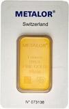 1 oz Gold Bar Metalor Pre-Owned 22074