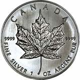 1 oz Silver Coin Maple Bullion Best Value Secondary Market 20772