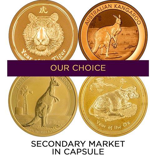 1 oz Gold Coin Bullion Best Value Secondary Market In Capsule 20686
