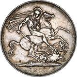 1902 Edward VII Silver Crown 24448