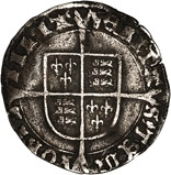 1553-1554 Mary I Silver Groat 24179