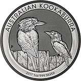 2017 1 Kg Silver Coin Kookaburra Bullion 23091