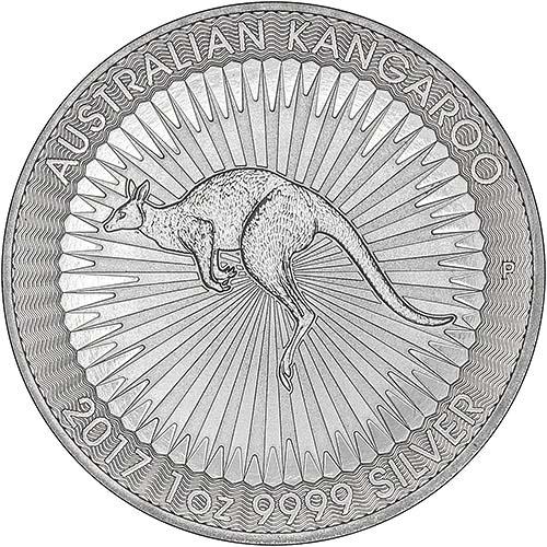 2017 Silver Kangaroo 1 Oz Bullion Coin Chard