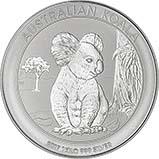 2017 1 Kg Silver Coin Koala Bullion 25161